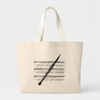 Bolsa Tote Grande Musical 01 B de Oboe