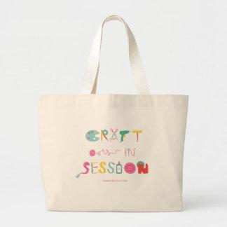 Bolsa Tote Grande O artesanato é sacola da sessão