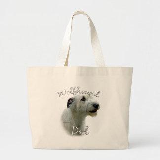 Bolsa Tote Grande Pai 2 do Wolfhound irlandês