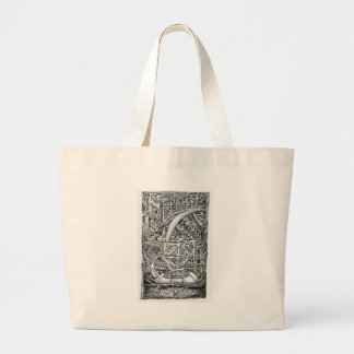 Bolsa Tote Grande Tanque do tentáculo por Brian Benson