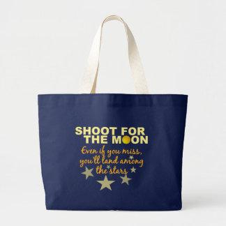 Bolsa Tote Grande Tiro 4 o saco da lua