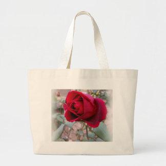 Bolsa Tote Grande última rosa vermelha