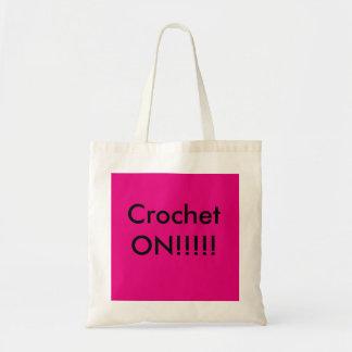 Bolsa Tote Hora de crochet!!!!!!!