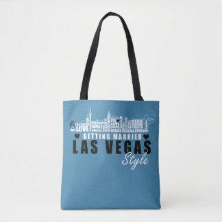 Bolsa Tote Ideias do presente de casamento de Vegas -