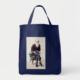 Bolsa Tote Ilustração de Charles Darwin Vanity Fair