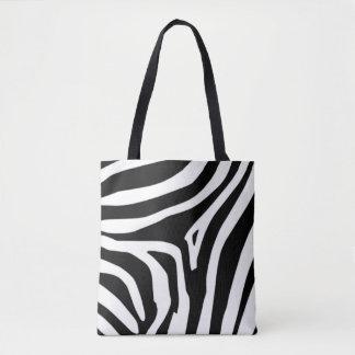 Bolsa Tote Listras da zebra