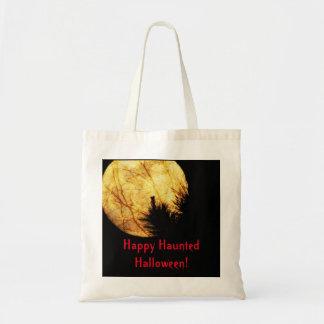Bolsa Tote Lua do Dia das Bruxas