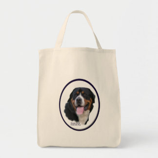 Bolsa Tote Maiores presentes suíços do cão da montanha