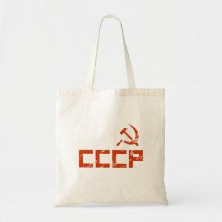 Bolsa Tote Martelo vermelho e foice de CCCP
