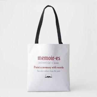 Bolsa Tote Memórias, memórias - ecos do passado