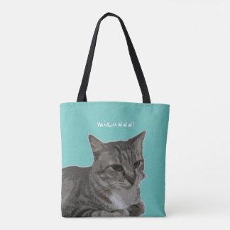Bolsa Tote meow! agarre-me!