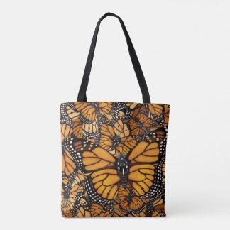 Bolsa Tote Migração da borboleta de monarca