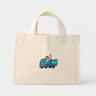 Bolsa Tote Mini Desenhos animados de ondulação do camionista do