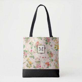 Bolsa Tote Monograma floral do país