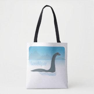 Bolsa Tote Monstro de Loch Ness com a sacola do divertimento