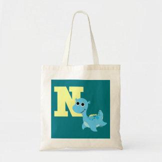 Bolsa Tote N é para o Nessie