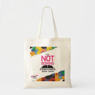 Bolsa Tote Não a sacola da mostra do livro da perfuração
