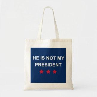 Bolsa Tote Não meu presidente