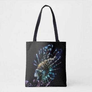 Bolsa Tote natações do lionfish