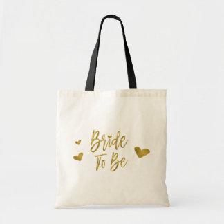 Bolsa Tote Noiva a ser saco da festa de casamento da folha de
