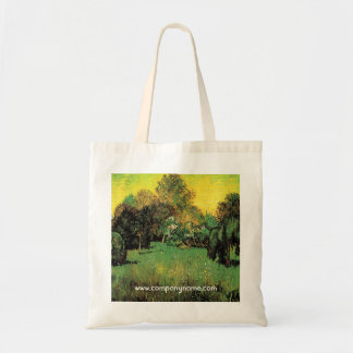 Bolsa Tote O jardim do poeta por Vincent van Gogh.