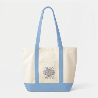 Bolsa Tote O saco da noiva da lua de mel do casamento do