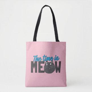Bolsa Tote O tempo louco da senhora do gato é Meow