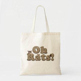 """Bolsa Tote """"Oh sacola dos ratos"""""""