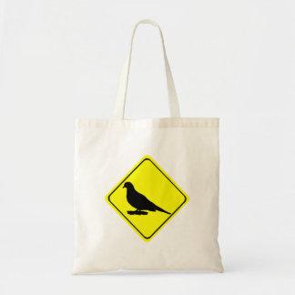 Bolsa Tote Ornitologia de lamentação do amor do sinal de