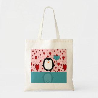 Bolsa Tote Pinguim
