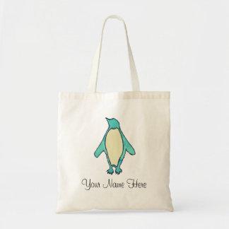 Bolsa Tote Pinguim personalizado
