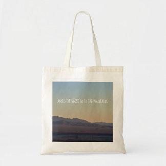 Bolsa Tote Por do sol da montanha