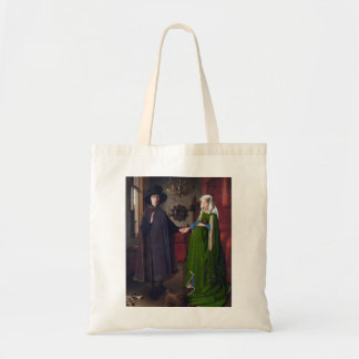 Bolsa Tote Retrato 1434 de JANEIRO CAMIONETE EYCK- Arnolfini