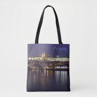Bolsa Tote Rio de Praga e foto da lembrança da opinião do