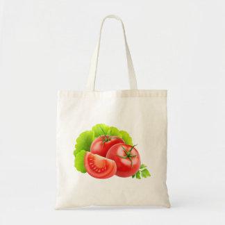 Bolsa Tote Saco com tomates frescos