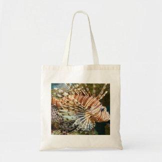 Bolsa Tote Saco da foto do Lionfish