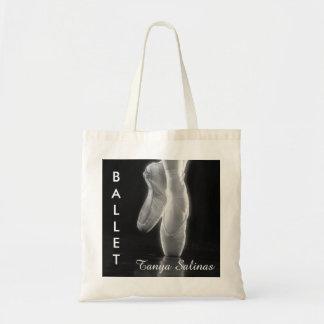 Bolsa Tote Saco dos calçados de dedo do pé da dança do balé