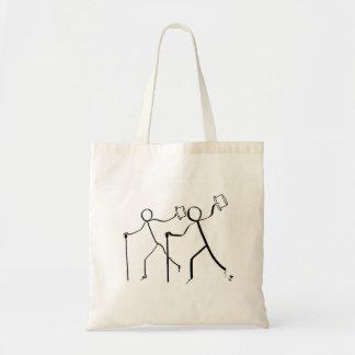 Bolsa Tote Sacola com os dois dançarinos de torneira