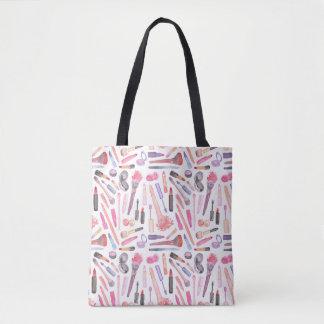 Bolsa Tote Sacola da composição da aguarela