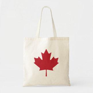 Bolsa Tote Sacola da folha de bordo de Canadá