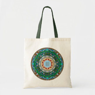 Bolsa Tote Sacola da mandala do estado de Maine