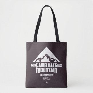 Bolsa Tote Sacola da montanha do Camelback (escura) -