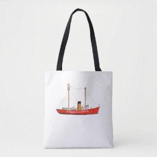 Bolsa Tote sacola do barco-farol do nantucket
