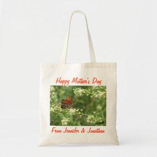 Bolsa Tote Sacola do dia das mães, borboleta