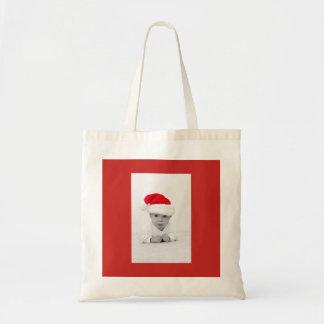 Bolsa Tote Sacola do Natal do bebê