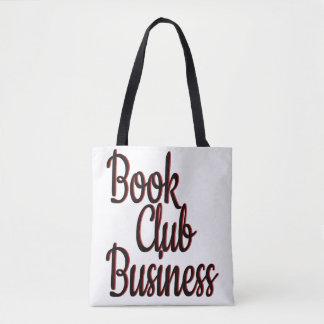Bolsa Tote Sacola do negócio do clube de leitura