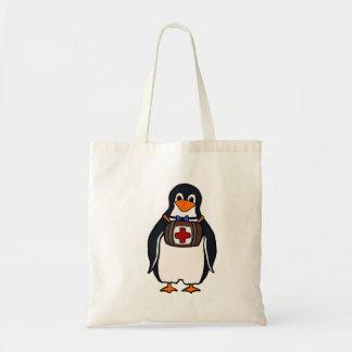 Bolsa Tote Sacola do pinguim de St Bernard