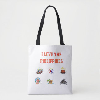 BOLSA TOTE SACOLA FILIPINO