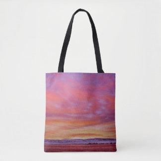 Bolsa Tote Sacola gloriosa do nascer do sol
