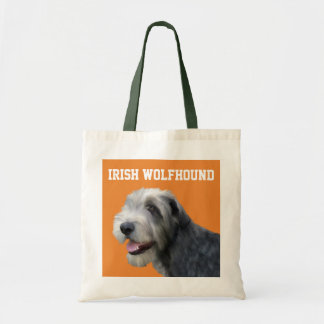 Bolsa Tote Sacola ilustrada do Wolfhound irlandês
